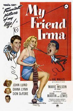 Minha Amiga Maluca 1950 Leg Comédia, Corinne Calvet, Dean Martin, Diana Lynn, Don Porter, Hal Walker, Jerry Lewis, John Lund, Lloyd Corrigan