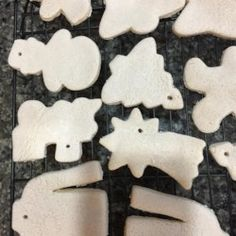 Decorative cookies. NOT EDIBLE!