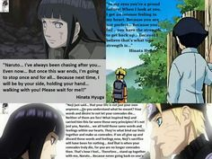 hinata  :3 tus palabras motivan a muchos Hinata Hyuga, Naruhina, Naruto Quotes, Manga Story, Naruto Couples, Gurren Lagann, You Are Perfect, Awesome Anime, Look At You