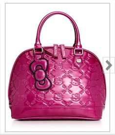 Absolute purrrfection - Hello Kitty glitter embossed handbag i have it! 7563ae0d39