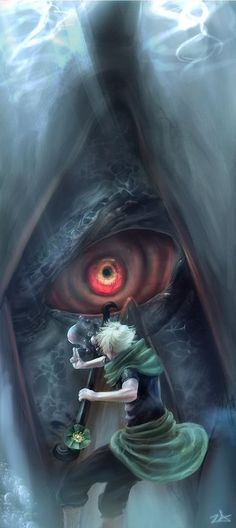 Yondaime Mizukage Yagura of the Three Tailed beast