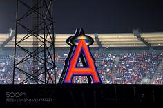 Freeway Series at Angel Stadium. by DanielMelendez2