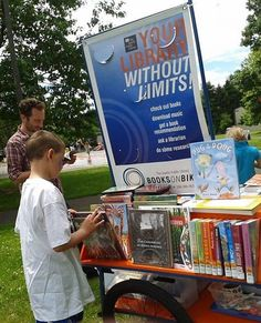 These Passionate Librarians are Delivering Books Via Bicycles #libraries trendhunter.com
