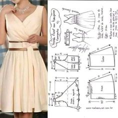 How To Make Clothes Sewing Hacks Sewing Projects Clothing Patterns Dress Patterns Sewing Patterns Sewing Clothes Diy Clothes Fashion Sketchbook Fashion Sewing, Diy Fashion, Fashion Dresses, Diy Clothing, Sewing Clothes, Dress Sewing Patterns, Clothing Patterns, How To Make Clothes, Pinterest Fashion