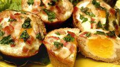 Egg and Bacon Tarts