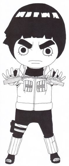 Rock Lee by TheArk6-14