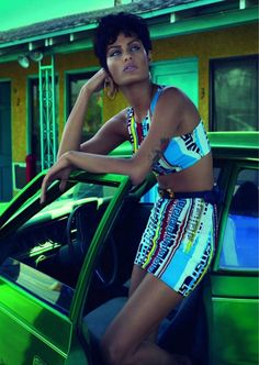 Vogue Paris June 2011 'Heat Wave' Mert and Marcus