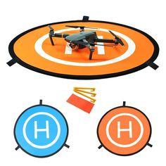 Bystep Drone Abschussrampe für DJI Mavic Pro, Drone Landing Pad, Faltbares wasserdichtes D75cm Landing Pad für DJI Mavic Pro Phantom 2/3/4 Inspire 1: Amazon.de: Spielzeug