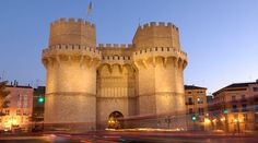 Torres Serrano - Valencia. One of the oldest entries to medieval city center.