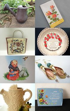 Sweet Summer Finds by Brenda L. Marsh on Etsy--Pinned with TreasuryPin.com