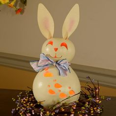 Meadowbrooke Gourds Spring Willow Bunny Lit Small  http://www.clevelandstreetnovelties.com/products/meadowbrooke-gourds/meadowbrooke-gourds-spring-willow-bunny-lit-small