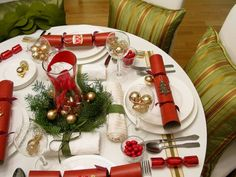 ❈ Christmas table decorations ❈