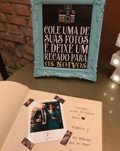 O Guestbook é um livro de assinatura onde os convidados colam uma foto e deixam um recadinho especial para os noivos! Todo mundo ama❤️ Wedding Night, Our Wedding Day, Perfect Wedding, Wedding Ceremony, Dream Wedding, Marry You, Simple Weddings, Got Married, Wedding Details