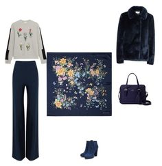"""""""Untitled #1291"""" by mokeefe425 ❤ liked on Polyvore featuring Aspinal of London, Steve J & Yoni P, Roland Mouret and Kate Spade"""
