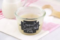 How to Make Dairy Free Condensed Milk: Easily make Dairy Free condensed milk at homemade to using in your Vegan and Dairy Free baking. Use it in any recipe that calls for regular condensed milk.
