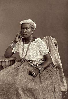 Marc Ferrez. Negra da Bahia, c. 1885. Salvador, BA.