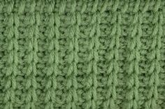 """My Tunisian Crochet: Tunisian Rib  If you love tunisian crochet, this is a """"must-have"""" site. Lots of different stitches and free patterns too! Take a look around."""