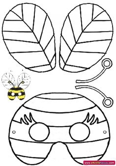 Grasshopper Pattern Use The Printable Outline For Crafts