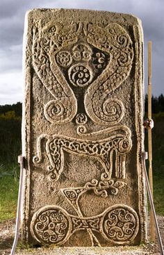Rodney's Stone is a Class II Pictish symbol stone, probably carved in the 8th century.