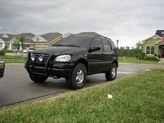 """Mercedes ML W163 - ORC Lift Kit, H&R 1"""" Wheel Spacers all-around"""