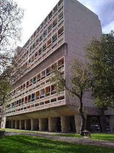Cite Radieuse Le Corbusier (Marseille) - 2020 All You Need to Know Before You Go (with Photos) - Marseille, France Le Corbusier Marseille, Provence, French Architecture, International Style, Brutalist, Trip Advisor, Multi Story Building, Photos, Floor Plans