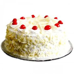 White Forest Cake Gift To Kerala Order Cakes Online Gifts