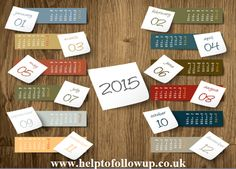 Start 2015 Following-Up Like You Know You Should! - Help To Follow Up - Send Out Cards -