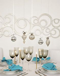 Stylish home - Serviruem table in the New Year