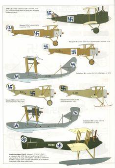 The Suomen Ilmavoimat (Finnish Air Force) Finnish Civil War, Finnish Air Force, Imperial Army, Flying Boat, Nose Art, Luftwaffe, Warfare, Finland, Techno