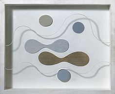 Lines in Space by Paule Vézelay - 1965 x x inches Mixed media construction Jean Arp, Constructivism, Artist Painting, Artist At Work, Collage, England, Shapes, Artists, London
