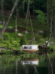 Suspended Lake Swing,  Siargao, The Philippines