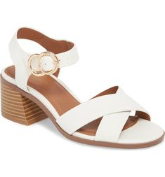 Womens Office Major Ghillie Block Heels White Croc Leather Heels