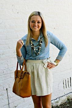 Summery girly outfit