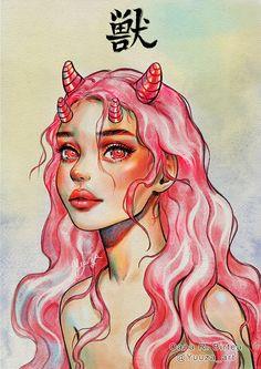 Girl Drawing Sketches, Cute Girl Drawing, Cartoon Girl Drawing, Girl Sketch, Art Drawings Sketches Simple, Girl Cartoon, Teenage Girl Drawing, Badass Drawings, Dark Art Drawings