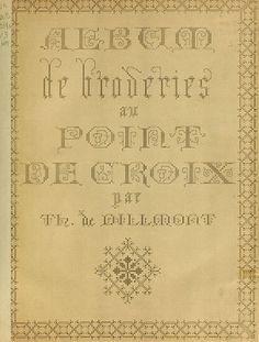 Album de broderies au Point De Croix 3
