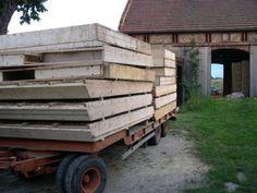 DOM ZE SŁOMY, gliny i drewna Log Homes, Wood, Design, Houses, Furniture, Timber Homes, Homes, Woodwind Instrument, Wood Homes