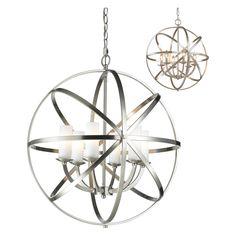 24 inches $774 Z-Lite Aranya 6017-6L-BN Pendant Light   from hayneedle.com