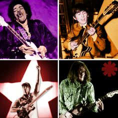 My dream team of the guitar heroes