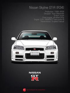 Nissan skyline and gtr history poster #5