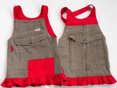 Recycle Cargo Pants to a Toddler Skirt Sewing Kids Clothes, Sewing For Kids, Baby Sewing, Diy Clothes, Dress Sewing Patterns, Sewing Patterns Free, Free Sewing, Clothing Patterns, Toddler Skirt