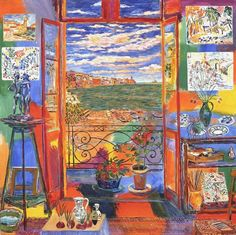 "Damian Elwes  ""Matisse's Studio in Collioure"""