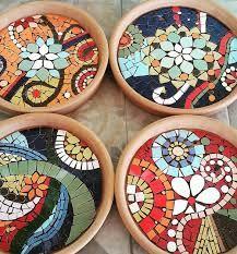 Resultado de imagen para mandalas raros en mosaicos | cuencos ...