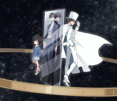 --Conan and Kaito Kid--