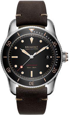 c3d5153766a Bremont Watch Supermarine S301 Black S301 BK R Watch