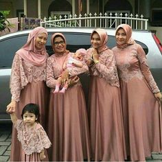 Pakaian pesta Kebaya Hijab, Kebaya Dress, Dress Pesta, Kebaya Muslim, Dress Brukat, Hijab Dress, Wedding Party Dresses, Bridesmaid Dresses, Prom Dresses