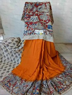 Kalamkari silk cotton sarees 50
