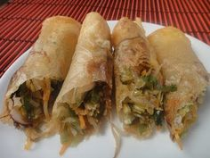 Spring Rolls - By VahChef @ VahRehVah.com - YouTube