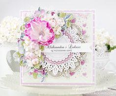 Blog Craft Passion: Kartka ślubna / Wedding card
