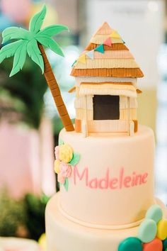 A Fabulous Pinoy Fiesta for Madeleine Party Kulissen, Party Ideas, Birthday Party Themes, Birthday Cake, 9th Birthday, Birthday Ideas, Debut Ideas, Pennant Banners, Tropical Party