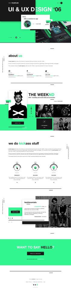 RUBRUM - Digital agency website